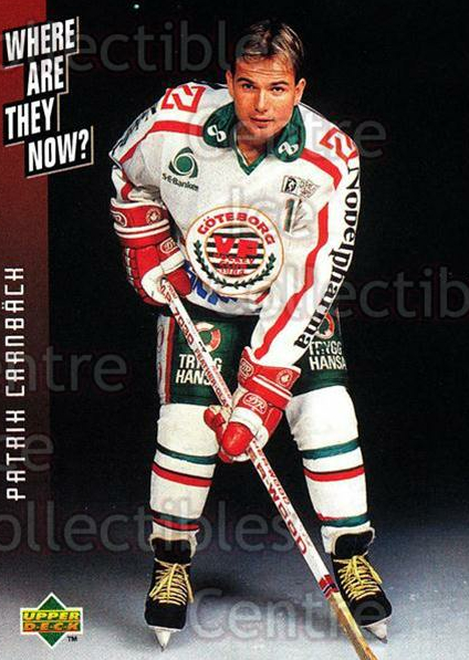 1995-96 Swedish Upper Deck #241 Patrik Carnback<br/>11 In Stock - $2.00 each - <a href=https://centericecollectibles.foxycart.com/cart?name=1995-96%20Swedish%20Upper%20Deck%20%23241%20Patrik%20Carnback...&quantity_max=11&price=$2.00&code=46010 class=foxycart> Buy it now! </a>