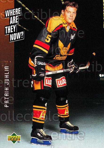 1995-96 Swedish Upper Deck #244 Patrik Juhlin<br/>12 In Stock - $2.00 each - <a href=https://centericecollectibles.foxycart.com/cart?name=1995-96%20Swedish%20Upper%20Deck%20%23244%20Patrik%20Juhlin...&quantity_max=12&price=$2.00&code=46011 class=foxycart> Buy it now! </a>