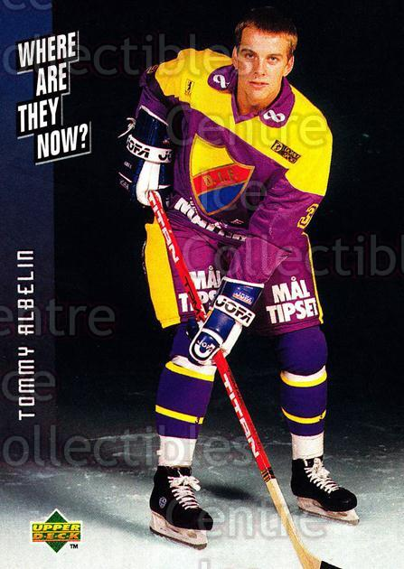 1995-96 Swedish Upper Deck #248 Tommy Albelin<br/>10 In Stock - $2.00 each - <a href=https://centericecollectibles.foxycart.com/cart?name=1995-96%20Swedish%20Upper%20Deck%20%23248%20Tommy%20Albelin...&price=$2.00&code=46012 class=foxycart> Buy it now! </a>