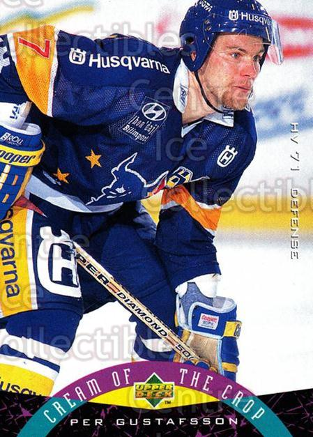 1995-96 Swedish Upper Deck #253 Per Gustafsson<br/>6 In Stock - $2.00 each - <a href=https://centericecollectibles.foxycart.com/cart?name=1995-96%20Swedish%20Upper%20Deck%20%23253%20Per%20Gustafsson...&price=$2.00&code=46015 class=foxycart> Buy it now! </a>