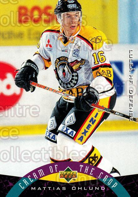 1995-96 Swedish Upper Deck #256 Mattias Ohlund<br/>10 In Stock - $2.00 each - <a href=https://centericecollectibles.foxycart.com/cart?name=1995-96%20Swedish%20Upper%20Deck%20%23256%20Mattias%20Ohlund...&quantity_max=10&price=$2.00&code=46017 class=foxycart> Buy it now! </a>