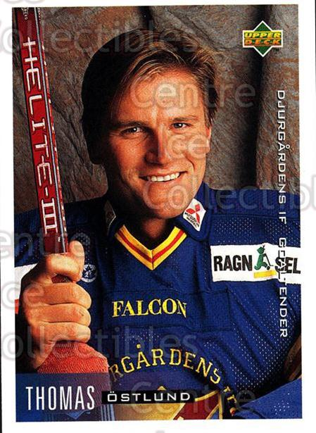 1995-96 Swedish Upper Deck #37 Thomas Ostlund<br/>9 In Stock - $2.00 each - <a href=https://centericecollectibles.foxycart.com/cart?name=1995-96%20Swedish%20Upper%20Deck%20%2337%20Thomas%20Ostlund...&price=$2.00&code=46022 class=foxycart> Buy it now! </a>