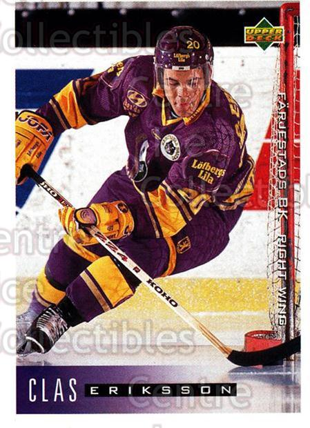 1995-96 Swedish Upper Deck #71 Claes Eriksson<br/>13 In Stock - $2.00 each - <a href=https://centericecollectibles.foxycart.com/cart?name=1995-96%20Swedish%20Upper%20Deck%20%2371%20Claes%20Eriksson...&quantity_max=13&price=$2.00&code=46039 class=foxycart> Buy it now! </a>