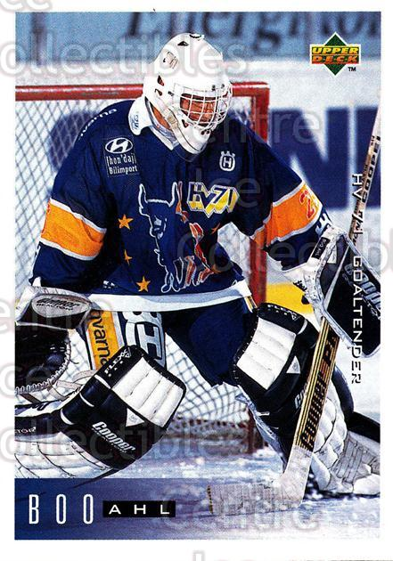 1995-96 Swedish Upper Deck #75 Boo Ahl<br/>10 In Stock - $2.00 each - <a href=https://centericecollectibles.foxycart.com/cart?name=1995-96%20Swedish%20Upper%20Deck%20%2375%20Boo%20Ahl...&price=$2.00&code=46041 class=foxycart> Buy it now! </a>