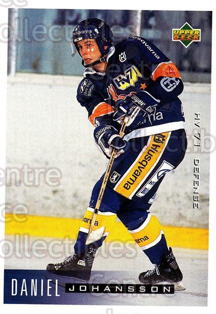 1995-96 Swedish Upper Deck #80 Daniel Johansson<br/>12 In Stock - $2.00 each - <a href=https://centericecollectibles.foxycart.com/cart?name=1995-96%20Swedish%20Upper%20Deck%20%2380%20Daniel%20Johansso...&price=$2.00&code=46046 class=foxycart> Buy it now! </a>