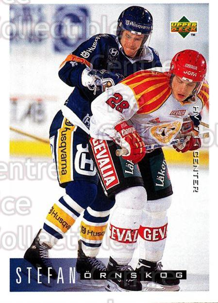 1995-96 Swedish Upper Deck #83 Stefan Ornskog<br/>9 In Stock - $2.00 each - <a href=https://centericecollectibles.foxycart.com/cart?name=1995-96%20Swedish%20Upper%20Deck%20%2383%20Stefan%20Ornskog...&price=$2.00&code=46048 class=foxycart> Buy it now! </a>