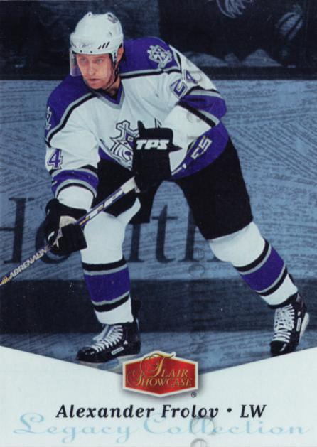 2006-07 Flair Showcase Legacy Collection Parallel #134 Alexander Frolov<br/>1 In Stock - $5.00 each - <a href=https://centericecollectibles.foxycart.com/cart?name=2006-07%20Flair%20Showcase%20Legacy%20Collection%20Parallel%20%23134%20Alexander%20Frolo...&quantity_max=1&price=$5.00&code=460771 class=foxycart> Buy it now! </a>