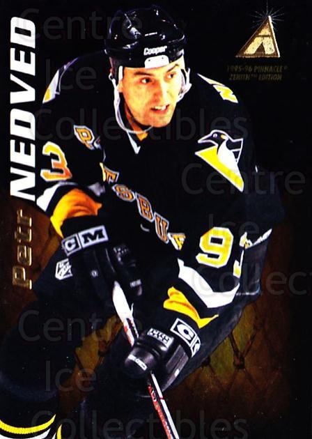 1995-96 Zenith #103 Petr Nedved<br/>6 In Stock - $1.00 each - <a href=https://centericecollectibles.foxycart.com/cart?name=1995-96%20Zenith%20%23103%20Petr%20Nedved...&quantity_max=6&price=$1.00&code=46090 class=foxycart> Buy it now! </a>