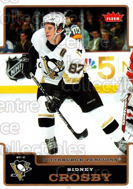 2006-07 Fleer #154 Sidney Crosby<br/>1 In Stock - $3.00 each - <a href=https://centericecollectibles.foxycart.com/cart?name=2006-07%20Fleer%20%23154%20Sidney%20Crosby...&quantity_max=1&price=$3.00&code=460968 class=foxycart> Buy it now! </a>