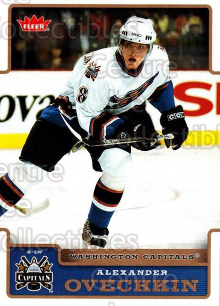 2006-07 Fleer #195 Alexander Ovechkin<br/>2 In Stock - $2.00 each - <a href=https://centericecollectibles.foxycart.com/cart?name=2006-07%20Fleer%20%23195%20Alexander%20Ovech...&price=$2.00&code=460969 class=foxycart> Buy it now! </a>