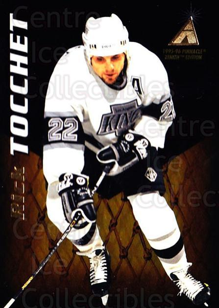 1995-96 Zenith #118 Rick Tocchet<br/>6 In Stock - $1.00 each - <a href=https://centericecollectibles.foxycart.com/cart?name=1995-96%20Zenith%20%23118%20Rick%20Tocchet...&quantity_max=6&price=$1.00&code=46104 class=foxycart> Buy it now! </a>