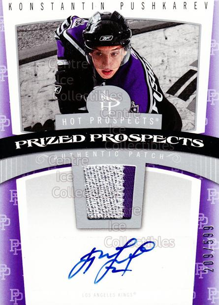 2006-07 Hot Prospects #118 Konstantin Pushkaryov<br/>1 In Stock - $5.00 each - <a href=https://centericecollectibles.foxycart.com/cart?name=2006-07%20Hot%20Prospects%20%23118%20Konstantin%20Push...&quantity_max=1&price=$5.00&code=461226 class=foxycart> Buy it now! </a>