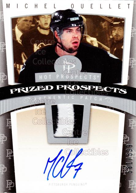 2006-07 Hot Prospects #130 Michel Ouellet<br/>1 In Stock - $5.00 each - <a href=https://centericecollectibles.foxycart.com/cart?name=2006-07%20Hot%20Prospects%20%23130%20Michel%20Ouellet...&quantity_max=1&price=$5.00&code=461238 class=foxycart> Buy it now! </a>