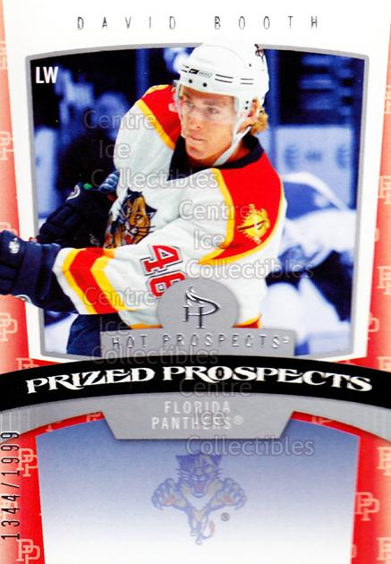 2006-07 Hot Prospects #161 David Booth<br/>2 In Stock - $3.00 each - <a href=https://centericecollectibles.foxycart.com/cart?name=2006-07%20Hot%20Prospects%20%23161%20David%20Booth...&quantity_max=2&price=$3.00&code=461256 class=foxycart> Buy it now! </a>