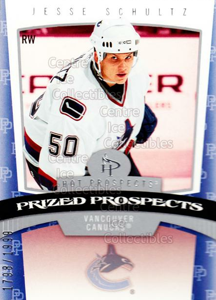 2006-07 Hot Prospects #184 Jesse Schultz<br/>1 In Stock - $3.00 each - <a href=https://centericecollectibles.foxycart.com/cart?name=2006-07%20Hot%20Prospects%20%23184%20Jesse%20Schultz...&quantity_max=1&price=$3.00&code=461259 class=foxycart> Buy it now! </a>