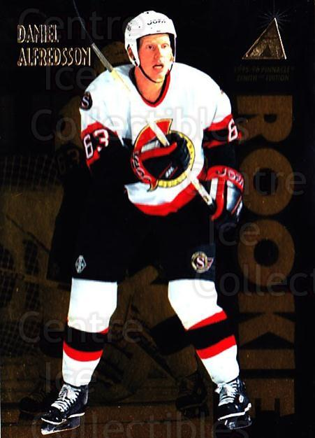 1995-96 Zenith #149 Daniel Alfredsson<br/>5 In Stock - $3.00 each - <a href=https://centericecollectibles.foxycart.com/cart?name=1995-96%20Zenith%20%23149%20Daniel%20Alfredss...&quantity_max=5&price=$3.00&code=46134 class=foxycart> Buy it now! </a>