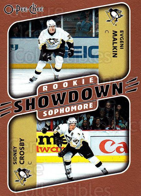 2006-07 O-Pee-Chee #621 Sidney Crosby, Evgeni Malkin<br/>1 In Stock - $5.00 each - <a href=https://centericecollectibles.foxycart.com/cart?name=2006-07%20O-Pee-Chee%20%23621%20Sidney%20Crosby,%20...&quantity_max=1&price=$5.00&code=461399 class=foxycart> Buy it now! </a>