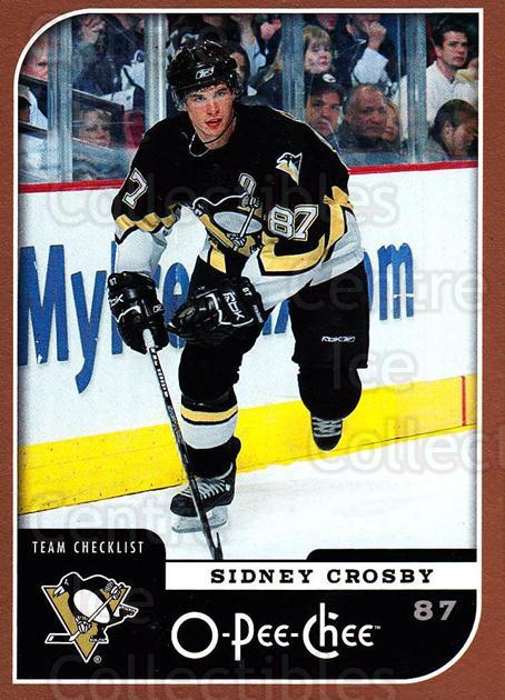 2006-07 O-Pee-Chee #694 Sidney Crosby, Checklist<br/>1 In Stock - $5.00 each - <a href=https://centericecollectibles.foxycart.com/cart?name=2006-07%20O-Pee-Chee%20%23694%20Sidney%20Crosby,%20...&quantity_max=1&price=$5.00&code=461472 class=foxycart> Buy it now! </a>