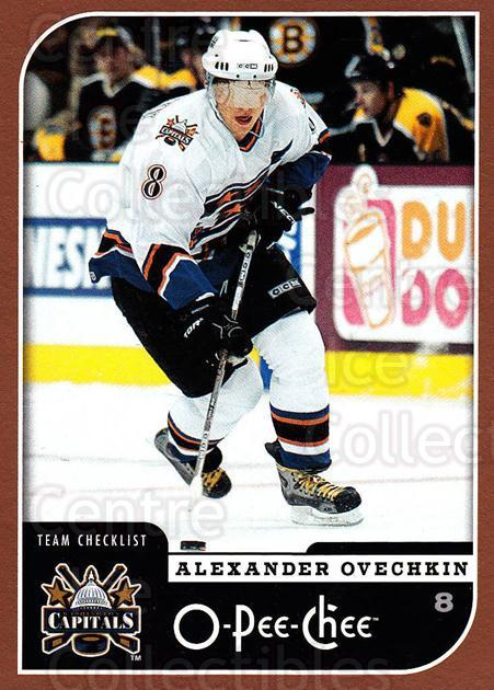 2006-07 O-Pee-Chee #700 Alexander Ovechkin, Checklist<br/>1 In Stock - $2.00 each - <a href=https://centericecollectibles.foxycart.com/cart?name=2006-07%20O-Pee-Chee%20%23700%20Alexander%20Ovech...&price=$2.00&code=461478 class=foxycart> Buy it now! </a>