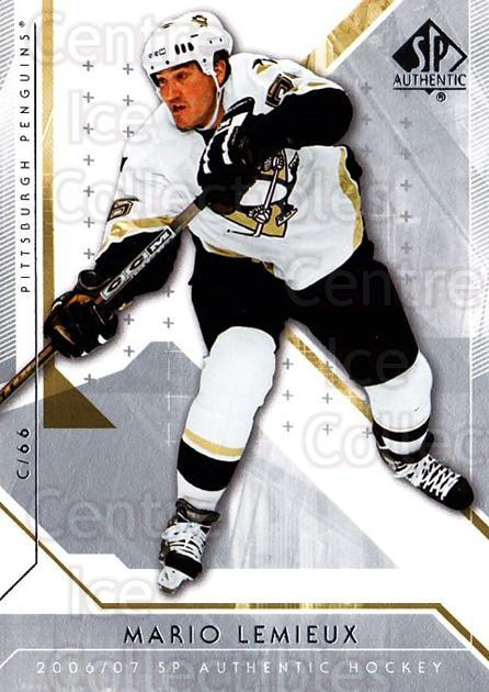 2006-07 SP Authentic #23 Mario Lemieux<br/>3 In Stock - $2.00 each - <a href=https://centericecollectibles.foxycart.com/cart?name=2006-07%20SP%20Authentic%20%2323%20Mario%20Lemieux...&quantity_max=3&price=$2.00&code=462203 class=foxycart> Buy it now! </a>