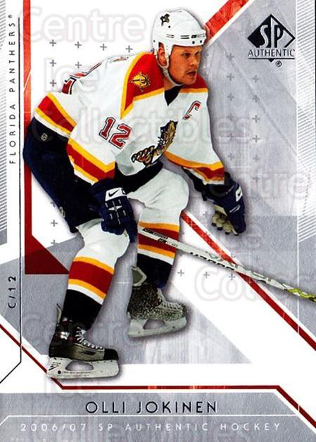 2006-07 SP Authentic #59 Olli Jokinen<br/>7 In Stock - $1.00 each - <a href=https://centericecollectibles.foxycart.com/cart?name=2006-07%20SP%20Authentic%20%2359%20Olli%20Jokinen...&quantity_max=7&price=$1.00&code=462239 class=foxycart> Buy it now! </a>