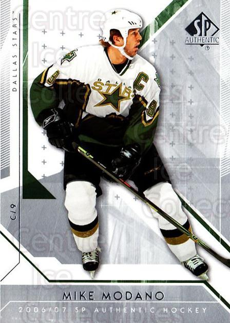 2006-07 SP Authentic #70 Mike Modano<br/>8 In Stock - $1.00 each - <a href=https://centericecollectibles.foxycart.com/cart?name=2006-07%20SP%20Authentic%20%2370%20Mike%20Modano...&quantity_max=8&price=$1.00&code=462250 class=foxycart> Buy it now! </a>