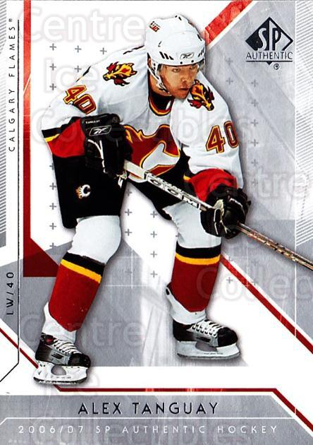 2006-07 SP Authentic #86 Alex Tanguay<br/>7 In Stock - $1.00 each - <a href=https://centericecollectibles.foxycart.com/cart?name=2006-07%20SP%20Authentic%20%2386%20Alex%20Tanguay...&quantity_max=7&price=$1.00&code=462266 class=foxycart> Buy it now! </a>
