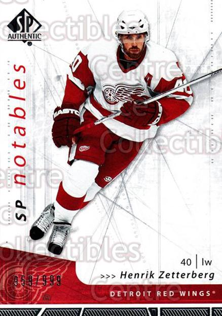 2006-07 SP Authentic #116 Henrik Zetterberg<br/>2 In Stock - $2.00 each - <a href=https://centericecollectibles.foxycart.com/cart?name=2006-07%20SP%20Authentic%20%23116%20Henrik%20Zetterbe...&quantity_max=2&price=$2.00&code=462296 class=foxycart> Buy it now! </a>