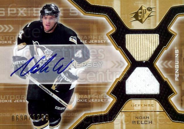 2006-07 SPx #173 Noah Welch<br/>1 In Stock - $5.00 each - <a href=https://centericecollectibles.foxycart.com/cart?name=2006-07%20SPx%20%23173%20Noah%20Welch...&quantity_max=1&price=$5.00&code=463233 class=foxycart> Buy it now! </a>