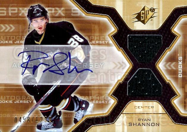 2006-07 SPx #178 Ryan Shannon<br/>1 In Stock - $5.00 each - <a href=https://centericecollectibles.foxycart.com/cart?name=2006-07%20SPx%20%23178%20Ryan%20Shannon...&quantity_max=1&price=$5.00&code=463238 class=foxycart> Buy it now! </a>