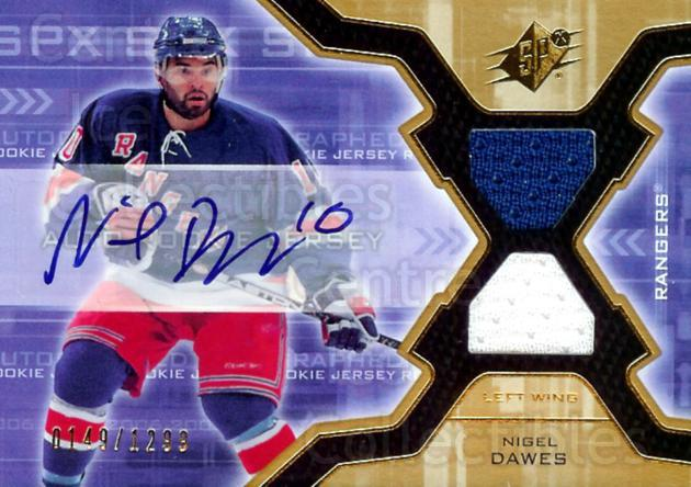 2006-07 SPx #181 Nigel Dawes<br/>1 In Stock - $5.00 each - <a href=https://centericecollectibles.foxycart.com/cart?name=2006-07%20SPx%20%23181%20Nigel%20Dawes...&quantity_max=1&price=$5.00&code=463241 class=foxycart> Buy it now! </a>