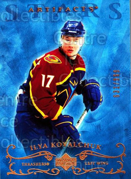 2006-07 UD Artifacts #152 Ilya Kovalchuk<br/>1 In Stock - $3.00 each - <a href=https://centericecollectibles.foxycart.com/cart?name=2006-07%20UD%20Artifacts%20%23152%20Ilya%20Kovalchuk...&quantity_max=1&price=$3.00&code=463986 class=foxycart> Buy it now! </a>