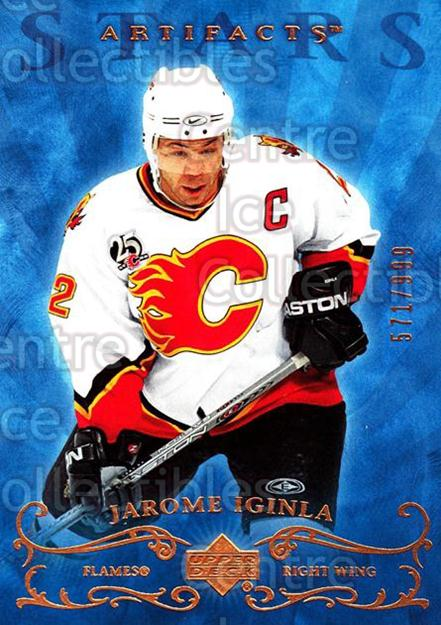 2006-07 UD Artifacts #158 Jarome Iginla<br/>2 In Stock - $3.00 each - <a href=https://centericecollectibles.foxycart.com/cart?name=2006-07%20UD%20Artifacts%20%23158%20Jarome%20Iginla...&quantity_max=2&price=$3.00&code=463992 class=foxycart> Buy it now! </a>