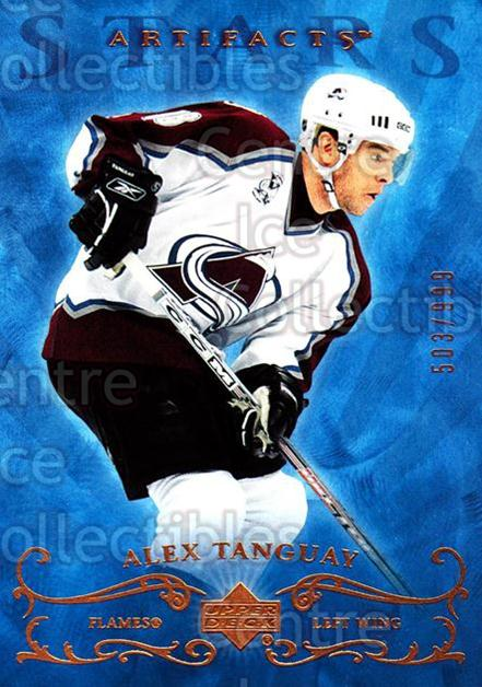 2006-07 UD Artifacts #162 Alex Tanguay<br/>3 In Stock - $3.00 each - <a href=https://centericecollectibles.foxycart.com/cart?name=2006-07%20UD%20Artifacts%20%23162%20Alex%20Tanguay...&quantity_max=3&price=$3.00&code=463996 class=foxycart> Buy it now! </a>