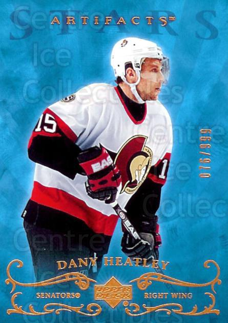 2006-07 UD Artifacts #185 Dany Heatley<br/>2 In Stock - $3.00 each - <a href=https://centericecollectibles.foxycart.com/cart?name=2006-07%20UD%20Artifacts%20%23185%20Dany%20Heatley...&quantity_max=2&price=$3.00&code=464019 class=foxycart> Buy it now! </a>