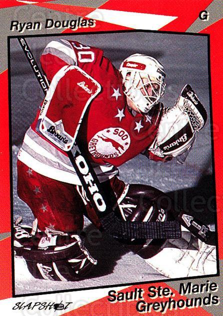 1993-94 Sault Ste. Marie Greyhounds #2 Ryan Douglas<br/>1 In Stock - $3.00 each - <a href=https://centericecollectibles.foxycart.com/cart?name=1993-94%20Sault%20Ste.%20Marie%20Greyhounds%20%232%20Ryan%20Douglas...&quantity_max=1&price=$3.00&code=4642 class=foxycart> Buy it now! </a>