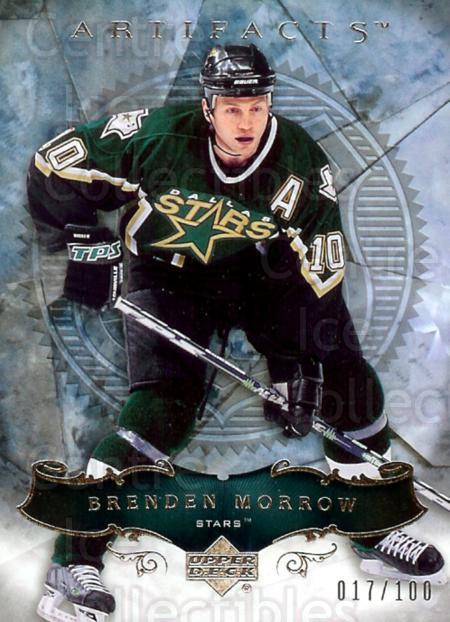 2006-07 UD Artifacts Silver #69 Brenden Morrow<br/>1 In Stock - $5.00 each - <a href=https://centericecollectibles.foxycart.com/cart?name=2006-07%20UD%20Artifacts%20Silver%20%2369%20Brenden%20Morrow...&quantity_max=1&price=$5.00&code=464447 class=foxycart> Buy it now! </a>