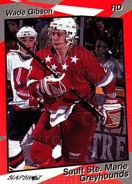 1993-94 Sault Ste. Marie Greyhounds #21 Wade Gibson<br/>2 In Stock - $3.00 each - <a href=https://centericecollectibles.foxycart.com/cart?name=1993-94%20Sault%20Ste.%20Marie%20Greyhounds%20%2321%20Wade%20Gibson...&quantity_max=2&price=$3.00&code=4644 class=foxycart> Buy it now! </a>