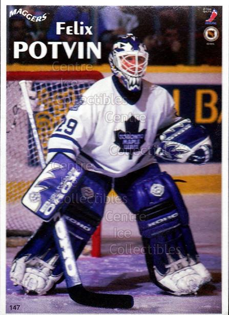 1996 Maggers Promos Magnets #147 Felix Potvin<br/>11 In Stock - $3.00 each - <a href=https://centericecollectibles.foxycart.com/cart?name=1996%20Maggers%20Promos%20Magnets%20%23147%20Felix%20Potvin...&quantity_max=11&price=$3.00&code=46498 class=foxycart> Buy it now! </a>