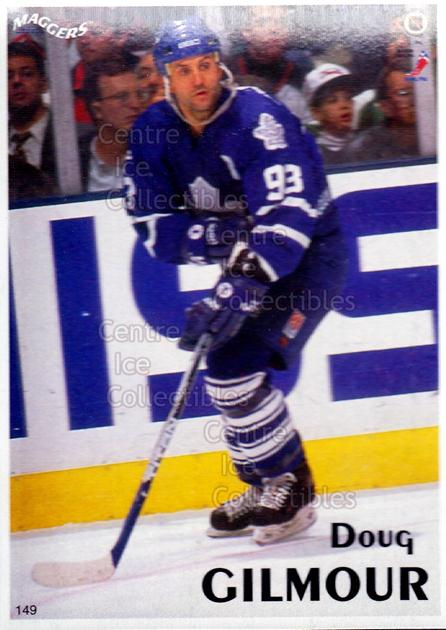 1996 Maggers Promos Magnets #149 Doug Gilmour<br/>13 In Stock - $3.00 each - <a href=https://centericecollectibles.foxycart.com/cart?name=1996%20Maggers%20Promos%20Magnets%20%23149%20Doug%20Gilmour...&quantity_max=13&price=$3.00&code=46506 class=foxycart> Buy it now! </a>