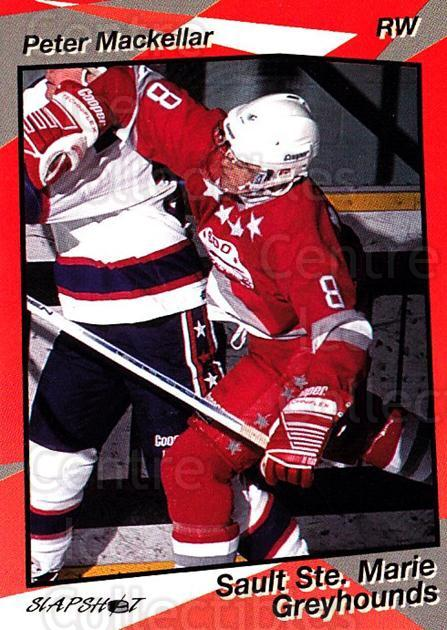 1993-94 Sault Ste. Marie Greyhounds #9 Peter MacKellar<br/>1 In Stock - $3.00 each - <a href=https://centericecollectibles.foxycart.com/cart?name=1993-94%20Sault%20Ste.%20Marie%20Greyhounds%20%239%20Peter%20MacKellar...&quantity_max=1&price=$3.00&code=4658 class=foxycart> Buy it now! </a>