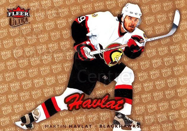 2006-07 Ultra Gold Medallion #45 Martin Havlat<br/>2 In Stock - $2.00 each - <a href=https://centericecollectibles.foxycart.com/cart?name=2006-07%20Ultra%20Gold%20Medallion%20%2345%20Martin%20Havlat...&quantity_max=2&price=$2.00&code=465962 class=foxycart> Buy it now! </a>