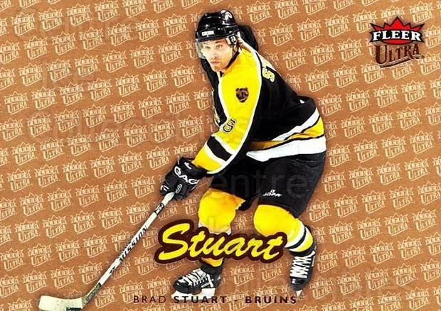 2006-07 Ultra Gold Medallion #17 Brad Stuart<br/>2 In Stock - $2.00 each - <a href=https://centericecollectibles.foxycart.com/cart?name=2006-07%20Ultra%20Gold%20Medallion%20%2317%20Brad%20Stuart...&quantity_max=2&price=$2.00&code=466096 class=foxycart> Buy it now! </a>