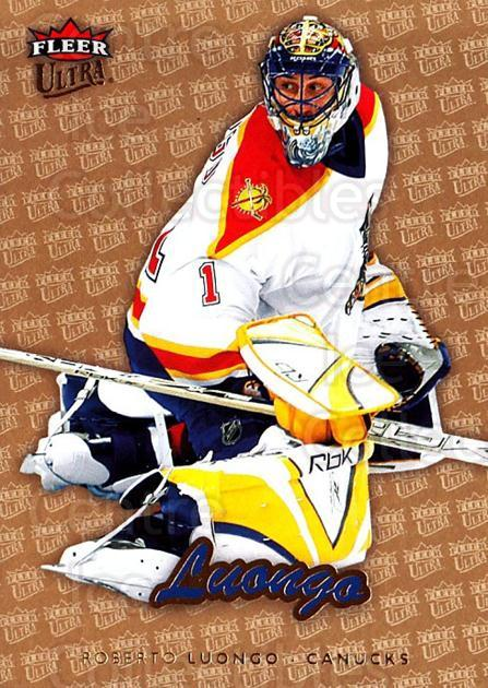 2006-07 Ultra Gold Medallion #189 Roberto Luongo<br/>1 In Stock - $2.00 each - <a href=https://centericecollectibles.foxycart.com/cart?name=2006-07%20Ultra%20Gold%20Medallion%20%23189%20Roberto%20Luongo...&quantity_max=1&price=$2.00&code=466117 class=foxycart> Buy it now! </a>