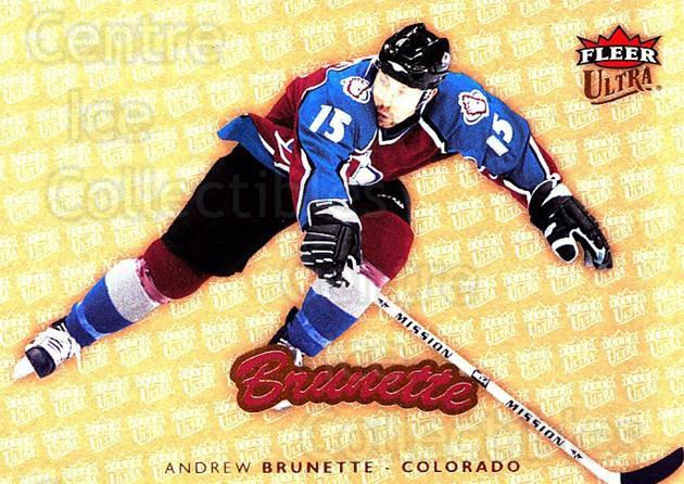 2006-07 Ultra Gold Medallion #51 Andrew Brunette<br/>2 In Stock - $2.00 each - <a href=https://centericecollectibles.foxycart.com/cart?name=2006-07%20Ultra%20Gold%20Medallion%20%2351%20Andrew%20Brunette...&quantity_max=2&price=$2.00&code=466154 class=foxycart> Buy it now! </a>