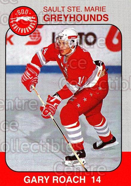 1993-94 Sault Ste. Marie Greyhounds Memorial Cup #14 Gary Roach<br/>3 In Stock - $3.00 each - <a href=https://centericecollectibles.foxycart.com/cart?name=1993-94%20Sault%20Ste.%20Marie%20Greyhounds%20Memorial%20Cup%20%2314%20Gary%20Roach...&quantity_max=3&price=$3.00&code=4663 class=foxycart> Buy it now! </a>