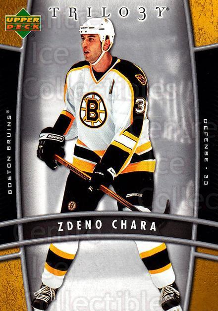 2006-07 UD Trilogy #8 Zdeno Chara<br/>1 In Stock - $1.00 each - <a href=https://centericecollectibles.foxycart.com/cart?name=2006-07%20UD%20Trilogy%20%238%20Zdeno%20Chara...&quantity_max=1&price=$1.00&code=466934 class=foxycart> Buy it now! </a>