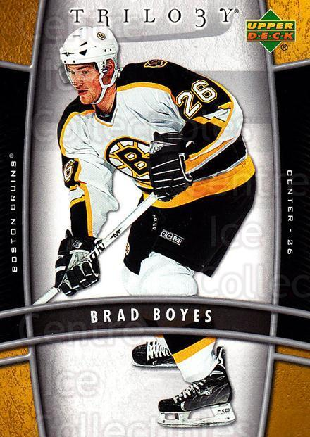2006-07 UD Trilogy #10 Brad Boyes<br/>3 In Stock - $1.00 each - <a href=https://centericecollectibles.foxycart.com/cart?name=2006-07%20UD%20Trilogy%20%2310%20Brad%20Boyes...&quantity_max=3&price=$1.00&code=466936 class=foxycart> Buy it now! </a>