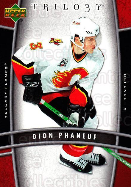 2006-07 UD Trilogy #17 Dion Phaneuf<br/>2 In Stock - $1.00 each - <a href=https://centericecollectibles.foxycart.com/cart?name=2006-07%20UD%20Trilogy%20%2317%20Dion%20Phaneuf...&price=$1.00&code=466943 class=foxycart> Buy it now! </a>