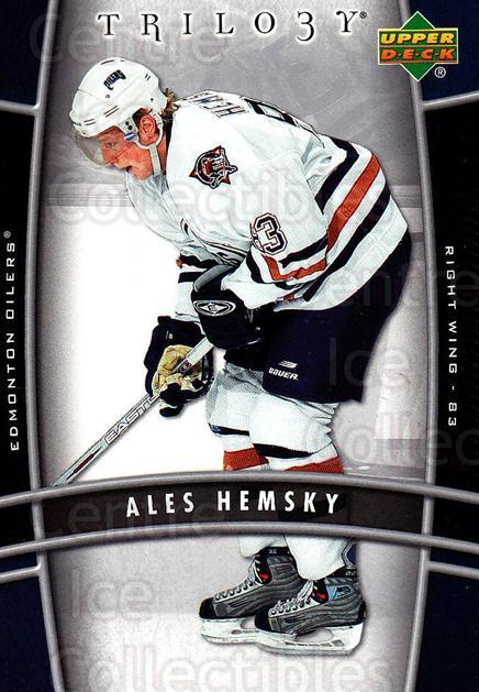 2006-07 UD Trilogy #41 Ales Hemsky<br/>3 In Stock - $1.00 each - <a href=https://centericecollectibles.foxycart.com/cart?name=2006-07%20UD%20Trilogy%20%2341%20Ales%20Hemsky...&quantity_max=3&price=$1.00&code=466967 class=foxycart> Buy it now! </a>